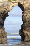 Praia de As Catedrais Image libre de droits