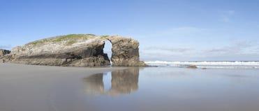 Praia de As Catedrais Lizenzfreie Stockbilder