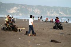 Praia de ATV Imagens de Stock