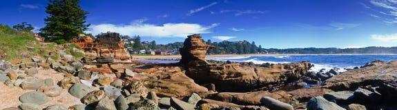 Praia de Avoca Fotografia de Stock