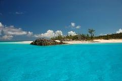 Praia de Bahamas imagem de stock royalty free