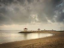 Praia de Bali Fotografia de Stock
