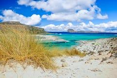 Praia de Balos, crete, greece imagens de stock