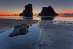 Praia de Bandon Imagens de Stock Royalty Free