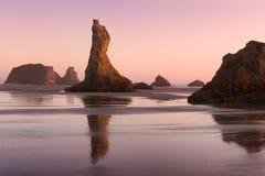 Praia de Bandon Fotografia de Stock Royalty Free