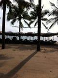 Praia de Bangsaen Imagem de Stock Royalty Free