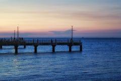 Praia de Bangsean Fotos de Stock