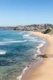 Praia de barra - Newcastle Austrália Imagem de Stock