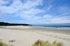 Praia de Bastendorff, parque de Coos County, Oregon Imagens de Stock