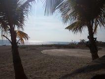 Praia de Bataan Entre fotos de stock