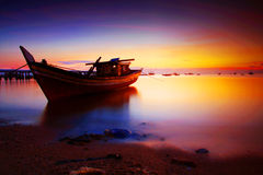 Praia de Batu Belubang fotografia de stock