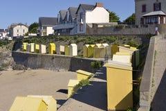 Praia de Batz-sur-MER em França Foto de Stock
