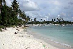 Praia de Bayahibe foto de stock