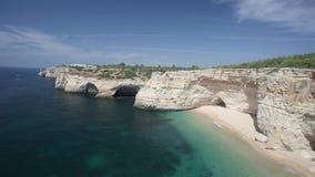 Praia de Benagil beach Stock Image