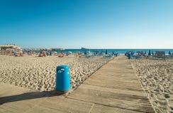 Praia de Benidorm Imagem de Stock Royalty Free