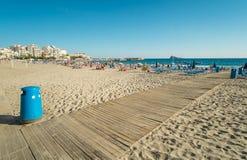 Praia de Benidorm Imagens de Stock Royalty Free