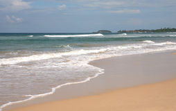 Praia de Bentota, Sri Lanka Imagens de Stock