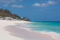 Praia de Bermuda imagens de stock