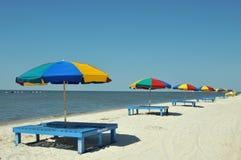 Praia de Biloxi Imagem de Stock