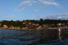 Praia de Bingin Imagem de Stock