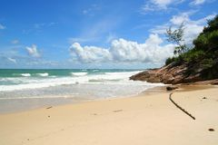 Praia de Bintan Foto de Stock Royalty Free