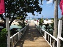 Praia de Bolinao imagens de stock