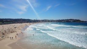 Praia de Bondi, Austrália imagens de stock