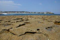 Praia de Bondi do Bondi à caminhada de Coogee Fotografia de Stock Royalty Free