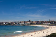 Praia de Bondi em Sydney, Austrália Imagem de Stock Royalty Free