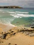 Praia de Bondi, Sydney, Austrália Imagem de Stock
