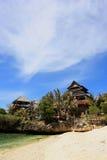 Praia de Boracay Fotos de Stock Royalty Free