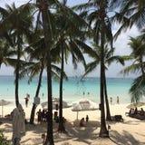 Praia de Boracay imagens de stock royalty free