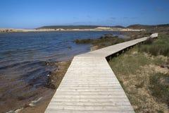 Praia de Bordeira, o Algarve, Portugal Fotografia de Stock Royalty Free