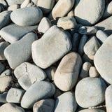 A praia de Borth apedreja 3 Foto de Stock