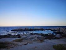 Praia de Boulder fotos de stock royalty free