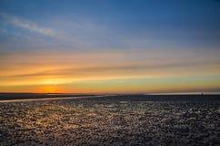 Praia de Brancaster Imagem de Stock