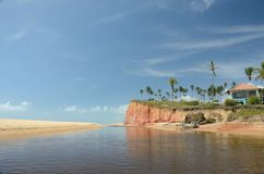 Praia de Brasil Fotos de Stock Royalty Free