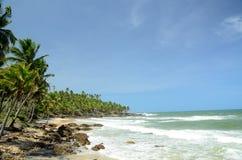 Praia de Brasil Fotos de Stock