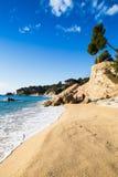 Praia de Brava da costela imagens de stock