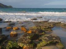 Praia de Brava em Buzios, Brasil Imagem de Stock