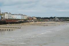 Praia de Bridlington Fotos de Stock