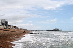 Praia de Brigghton Fotos de Stock