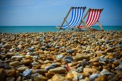 Praia de Brigghton. Imagem de Stock