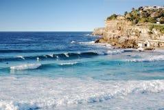 Praia de Bronte Fotografia de Stock