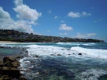 Praia de Bronte, Sydney Imagens de Stock Royalty Free