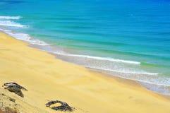 Praia de Butihondo em Fuerteventura, Spain Imagens de Stock Royalty Free