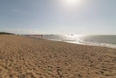 Praia de Cabo Branco, PB de Joao Pessoa, Brasil Foto de Stock