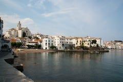 A praia de Cadaques Catalunya Spain foto de stock royalty free