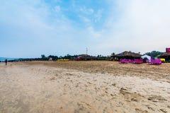 Praia de Calangute Imagem de Stock