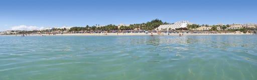 Praia de Calma da costela foto de stock